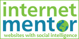 internet mentor button and link