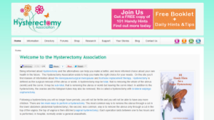 Hysterectomy Association Site 2013