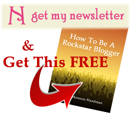 Sign up for newsletter and get how to be a rockstar blogger free