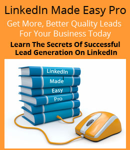 LinkedIn Made Easy Pro Advert