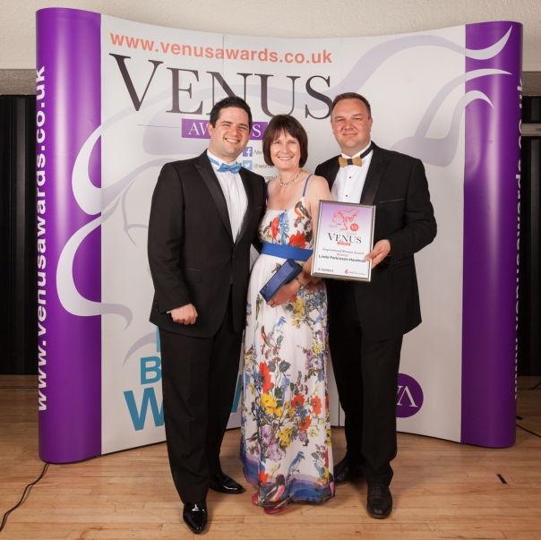 Linda Parkinson-Hardman at the Dorset 2014 NatWest Venus Awards Finalists Event