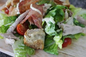 chicken pancetta salad