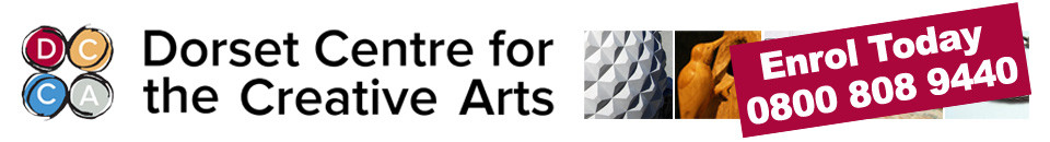 Dorset centre for creative arts logo